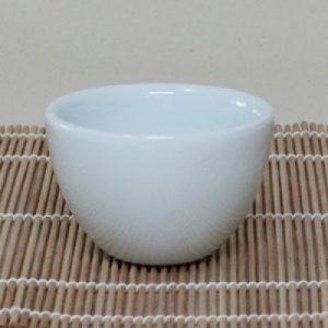 寬口生釉茶杯