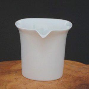 直筒造型白瓷茶海