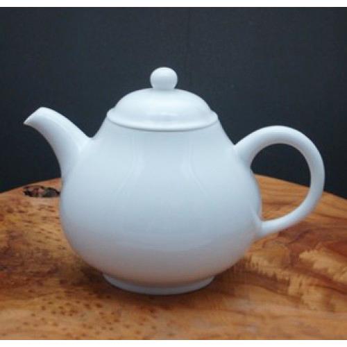 梨型造型白瓷壺