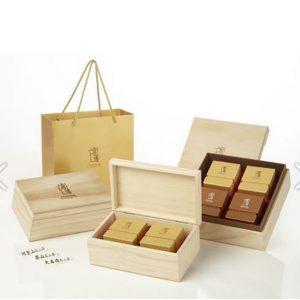 傳香木盒茶葉禮盒