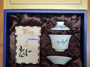 茶葉+小蓋杯客製禮盒