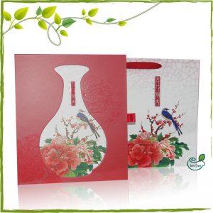 青花傳香茶葉禮盒