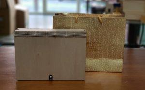 書包型木盒