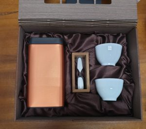 客製茶葉加茶杯禮盒