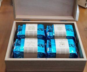 客製茶葉禮盒+木腰封