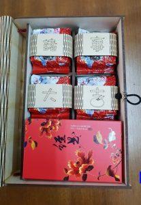 客製茶葉禮盒-茶+茶點