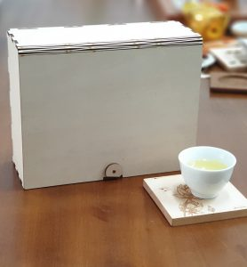 客製化茶葉禮盒-原木色
