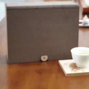 客製茶葉禮盒-雷射logo