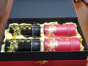 茗宴金色茶葉禮盒-客製茶葉禮盒推薦